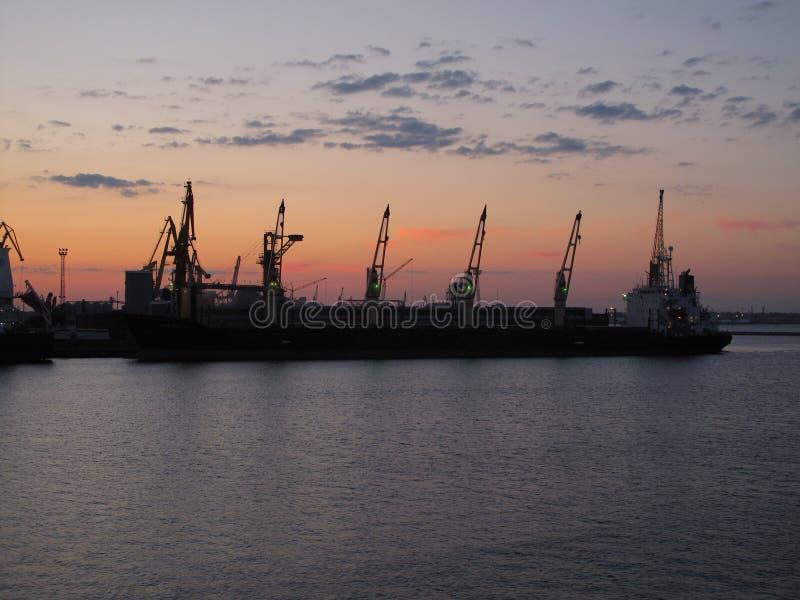 Porto a Odessa fotografia stock libera da diritti