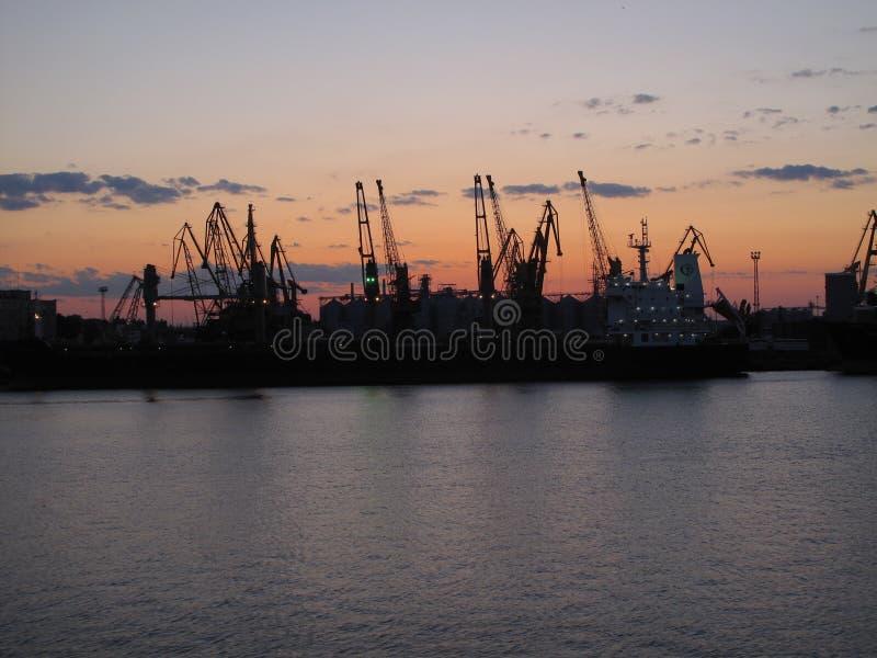 Porto a Odessa fotografie stock
