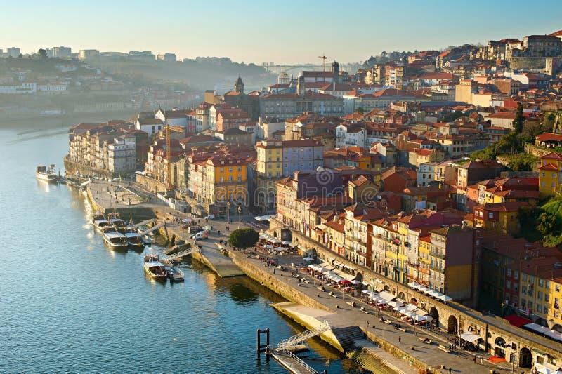 Porto odgórny widok, Portugalia zdjęcia stock
