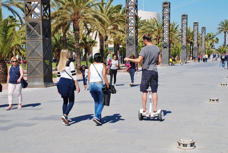 Porto Olimpic, Barcellona immagine stock libera da diritti