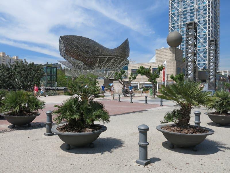 Porto Olimpic, Barcellona fotografia stock