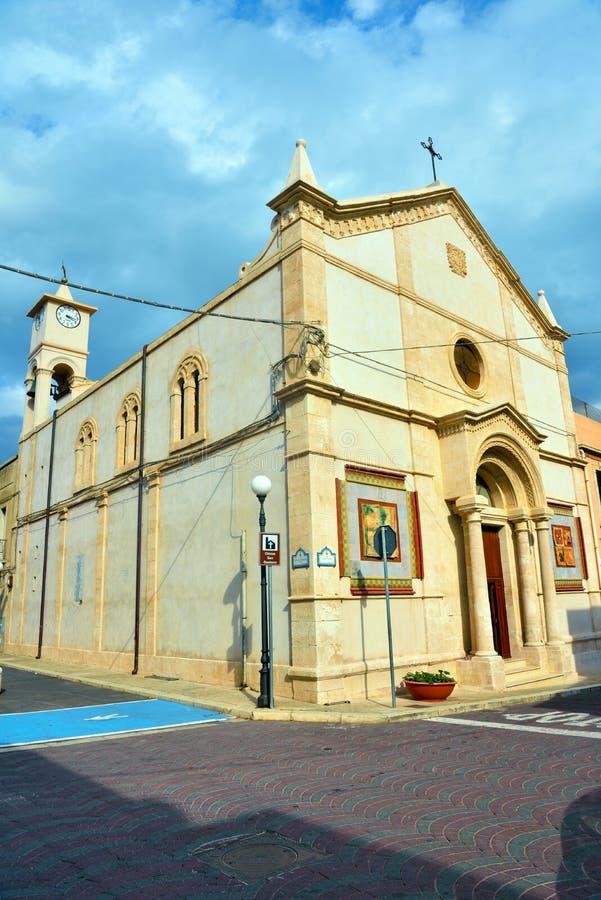 Porto palo di capo passero, syracuse, Sicilien, Italien fotografering för bildbyråer