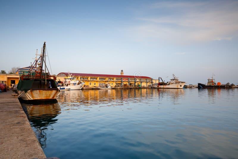 Download Porto a Patrasso fotografia stock editoriale. Immagine di greco - 55360853