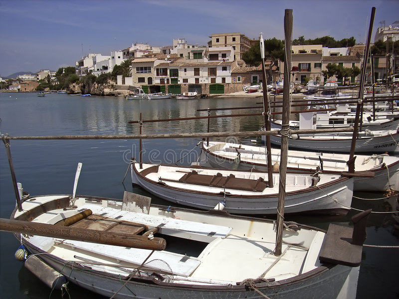 Download Porto Petro in Majorca stock photo. Image of dock, europe - 4317718