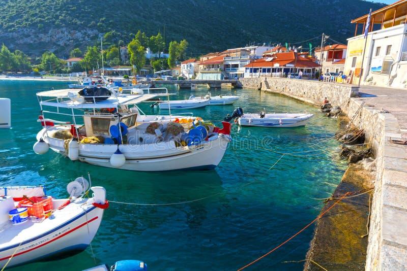 Porto pittoresco fotografie stock libere da diritti