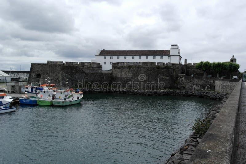 Porto, Ponta Delgada, Portogallo fotografia stock libera da diritti