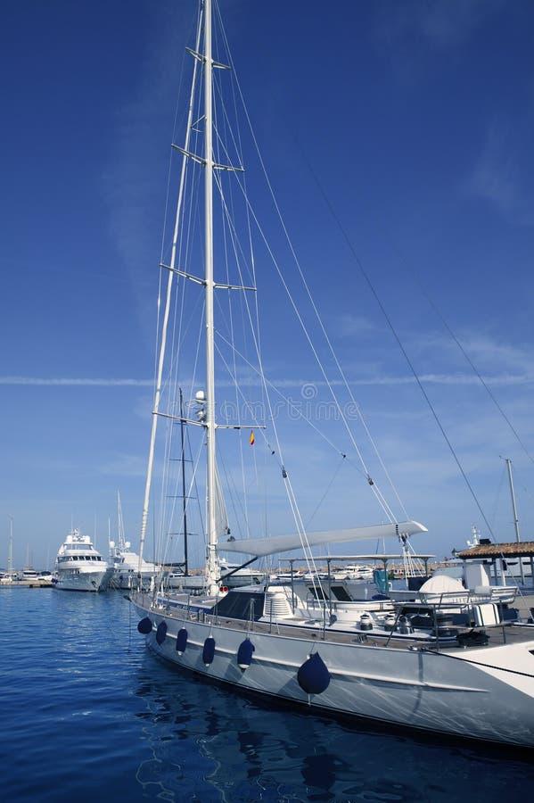 Porto portuário Spain do porto dos portais de Mallorca Puerto fotos de stock