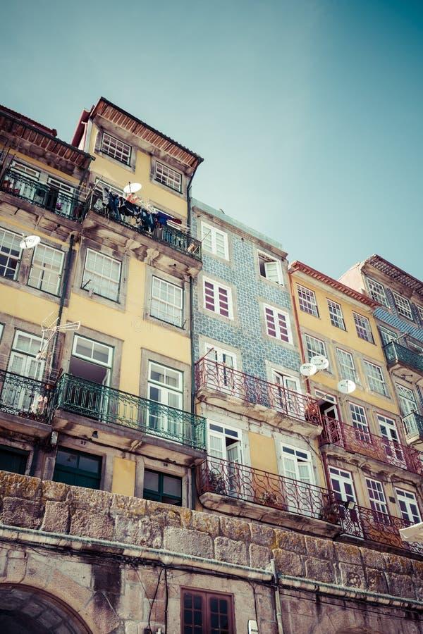 Porto Portugal 21 Maj, 2015: Kyrka för Santo Antonio DOS Congregados arkivbilder