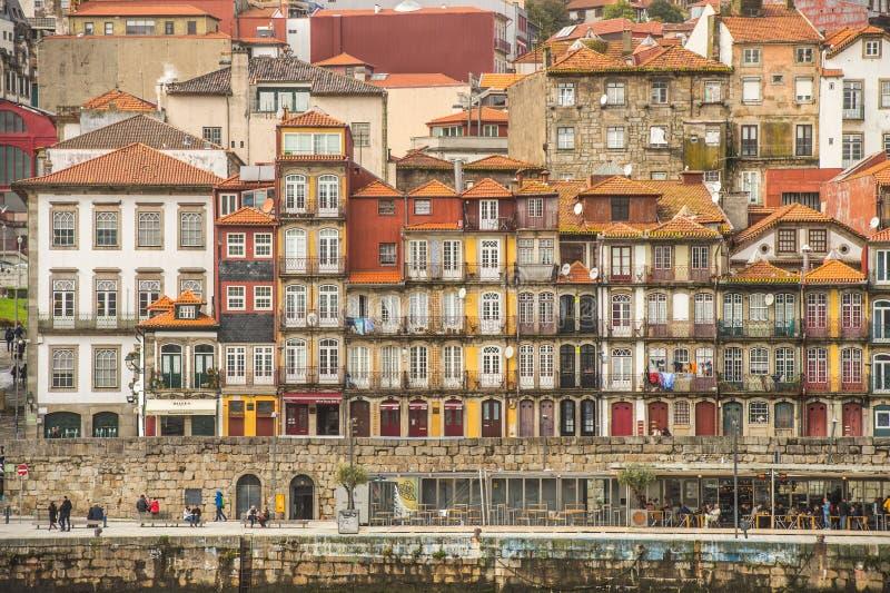 Porto, Portugal old town on the Douro River stock photo