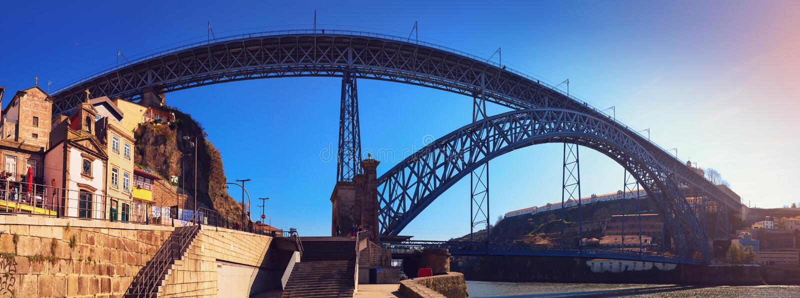 Porto in Portugal stock photo