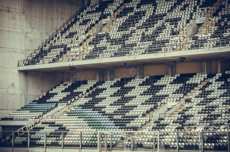 PORTO, PORTUGLAL - 8 juin 2019 : Vue générale de l'intérieur du stade Bessa XXI avant les finales de ligue de nations de l'UEFA photo libre de droits