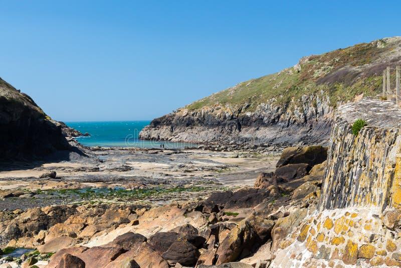 Porto Quin Cornwall England fotografia stock