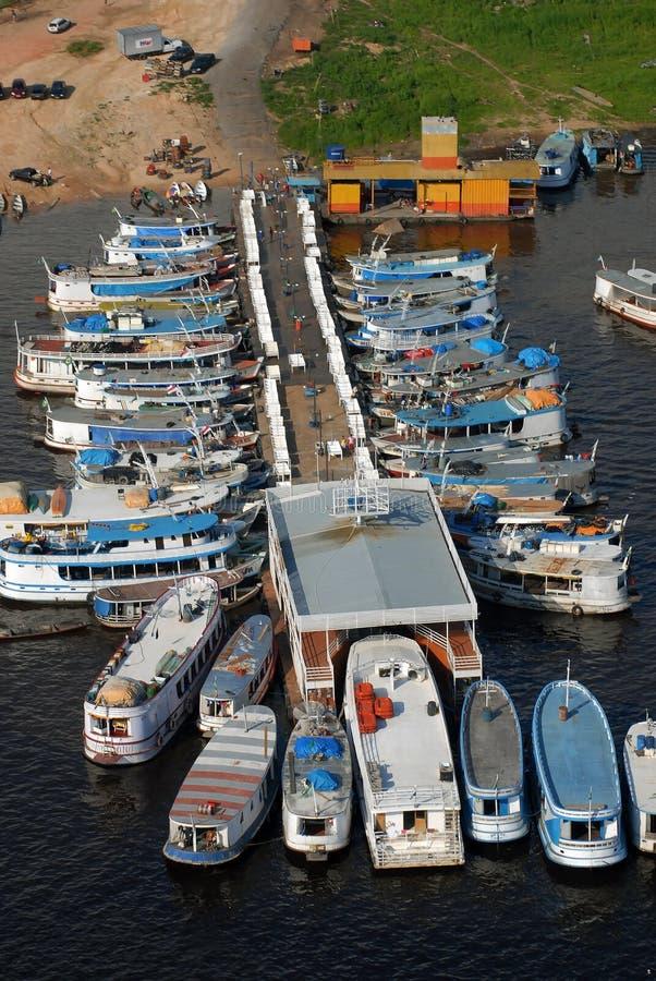 Porto regionale del mestiere di Manaus fotografia stock