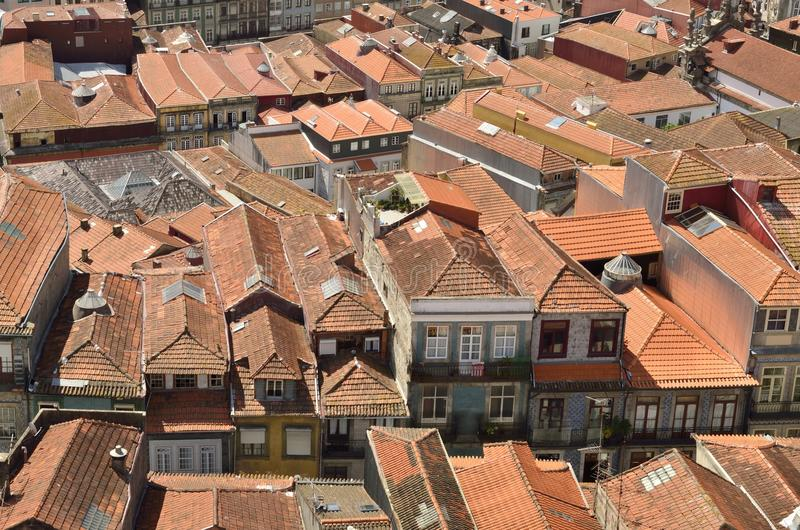 Porto roofscape royalty free stock photos