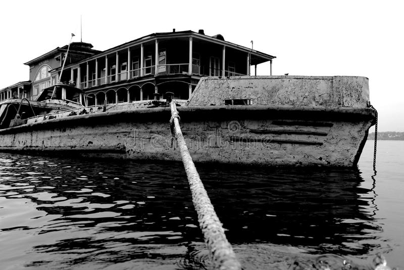 Porto Russia di Cerepovec fotografie stock libere da diritti