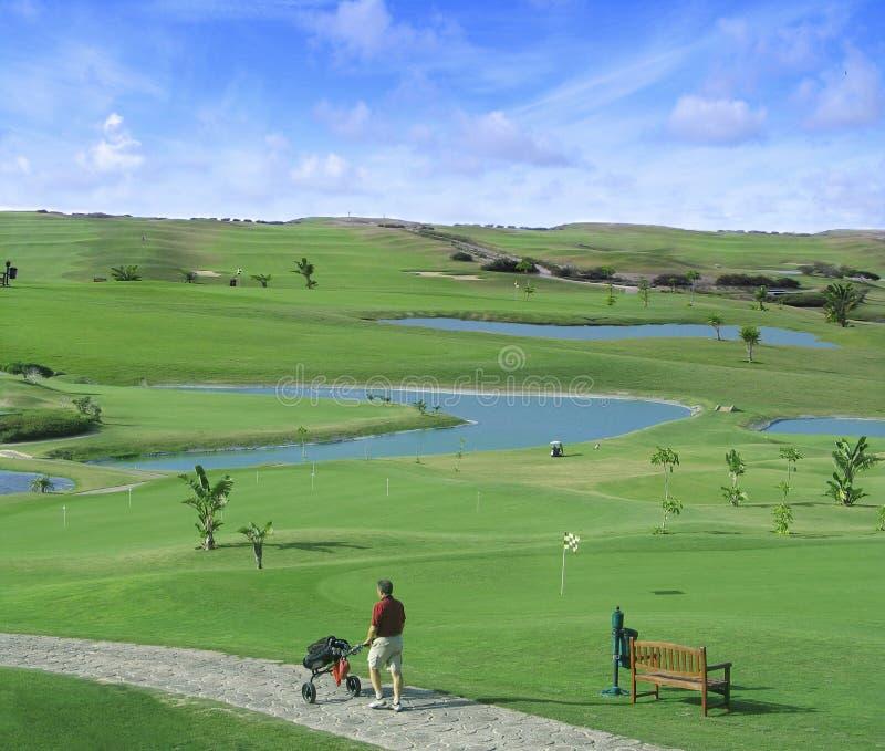 Porto Santo Golf stock image