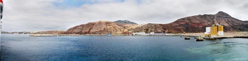 Porto Santo Harbour lizenzfreies stockbild