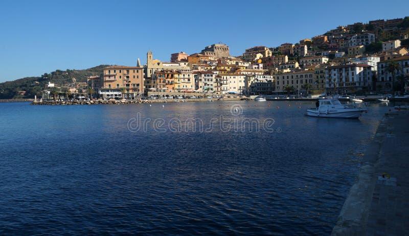 Porto Santo Stefano lizenzfreies stockfoto