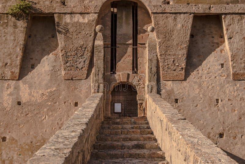 Porto Santo Stefano forteca obrazy royalty free