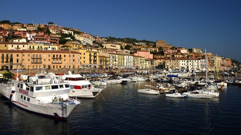 Porto Santo Stefano, Tuscany, Italy royalty free stock image