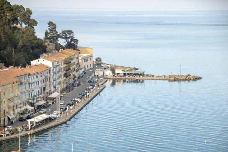 Porto Santo Stefano stockbilder