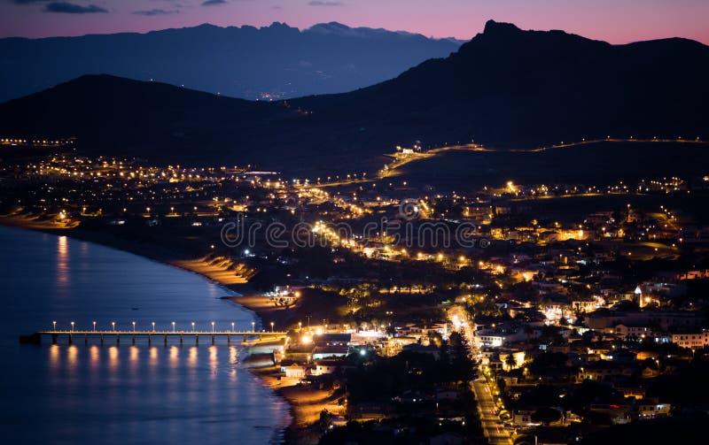 Porto Santo Sunset royalty-vrije stock afbeeldingen