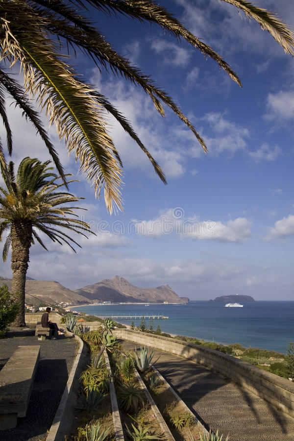 Download Porto Santo viewpoint stock image. Image of viewpoint - 20331053