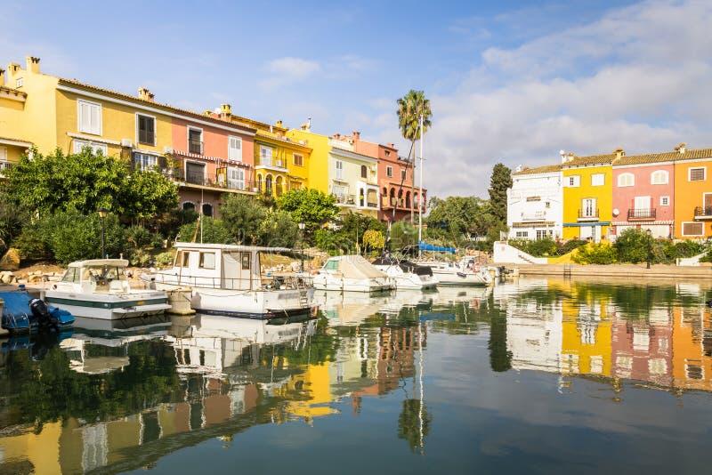 Porto Saplaya, Alboraya, Valência, Espanha fotografia de stock