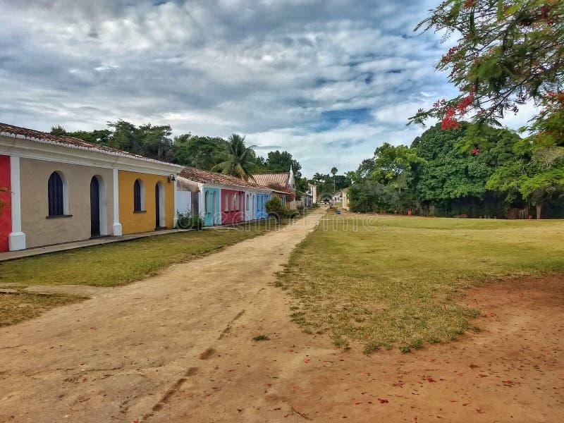 Porto Seguro - VAGABUNDOS ( Brazil) imagens de stock royalty free