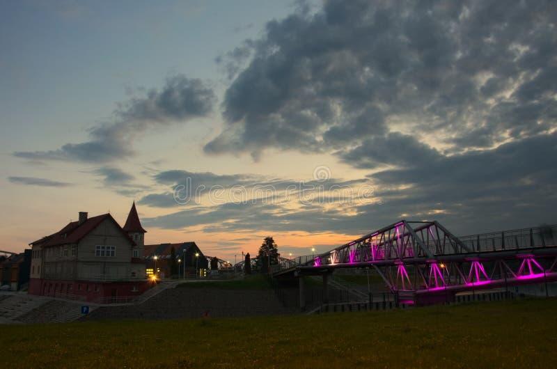 Porto Shulz in Grudziadz fotografia stock libera da diritti