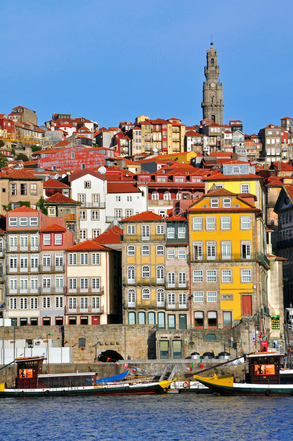 Download Porto Skyline, Vertical Shot Editorial Stock Photo - Image: 36881638