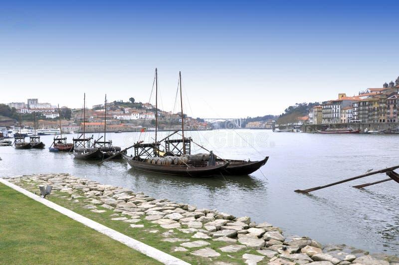 Porto stad in Portugal stock afbeeldingen