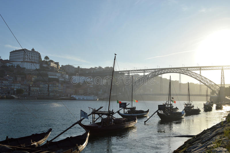 Porto stad, Portugal, Europa royaltyfria foton