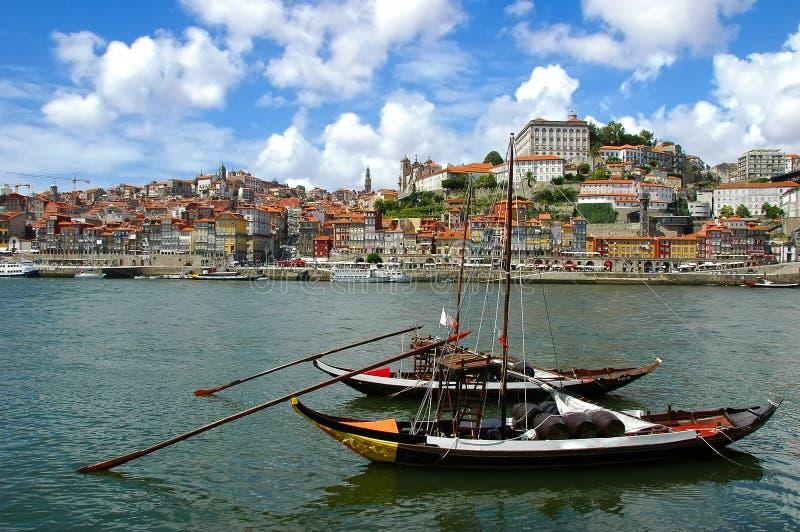Porto-Stadt - Portugal lizenzfreies stockbild