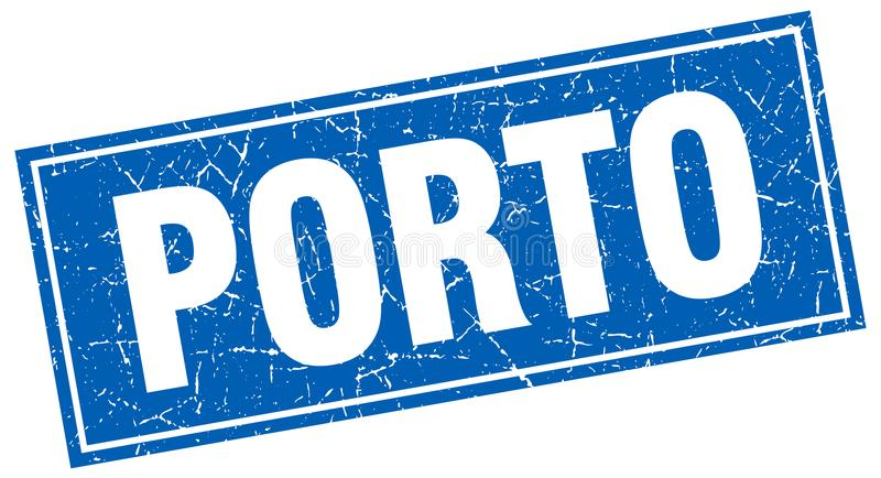 Porto-Stempel lizenzfreie abbildung