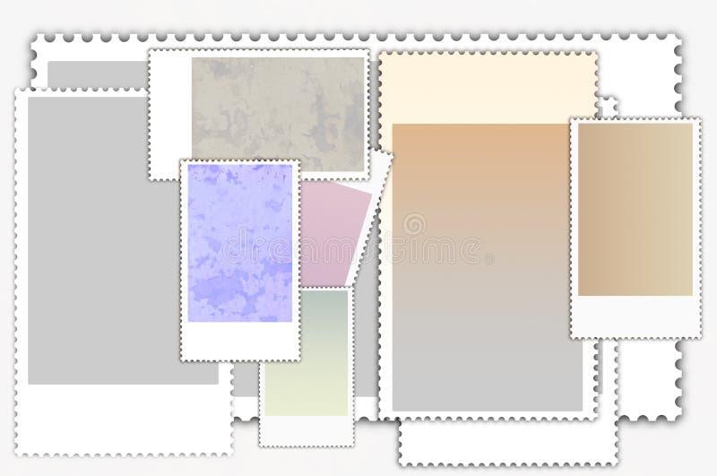 Porto-stempelt vektor abbildung