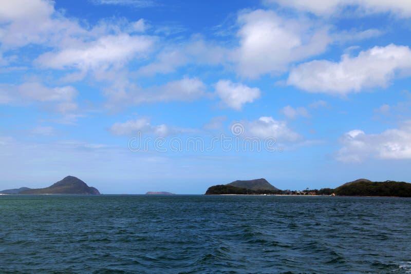 Porto Stephens Australia imagens de stock