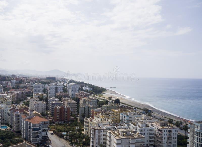 Porto su Alanya il riviera turco immagine stock libera da diritti