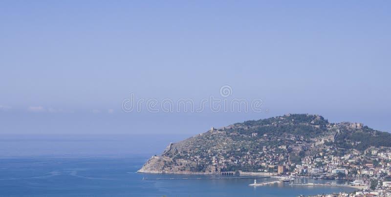 Porto su Alanya il riviera turco fotografia stock