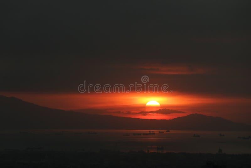 Porto sul Manila Filipinas do cais 15 fotos de stock