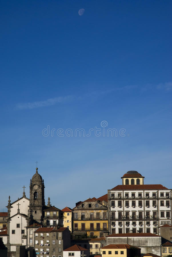 Download Porto in the sunrise light stock photo. Image of exterior - 17389448