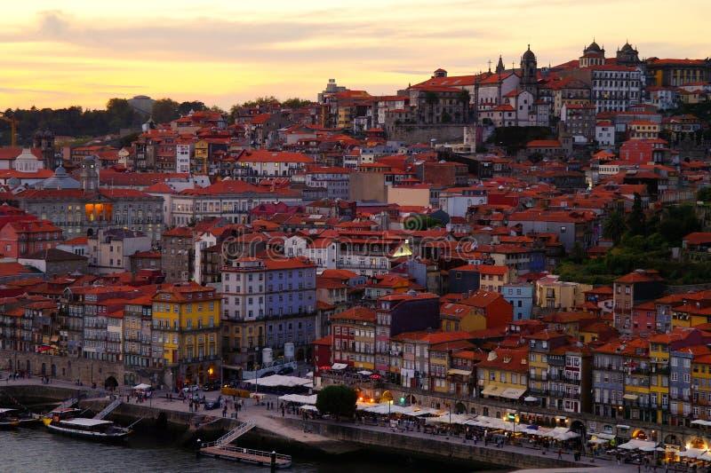Porto at Sunset royalty free stock image