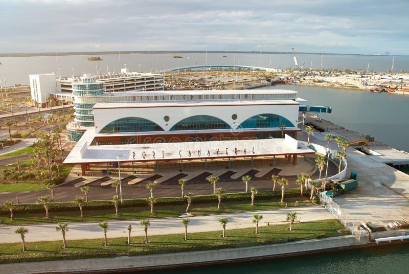 Porto terminale della linea di crociera di Disney fotografia stock libera da diritti