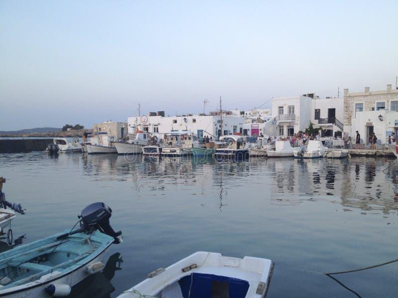 Porto tipico del Greco immagini stock libere da diritti