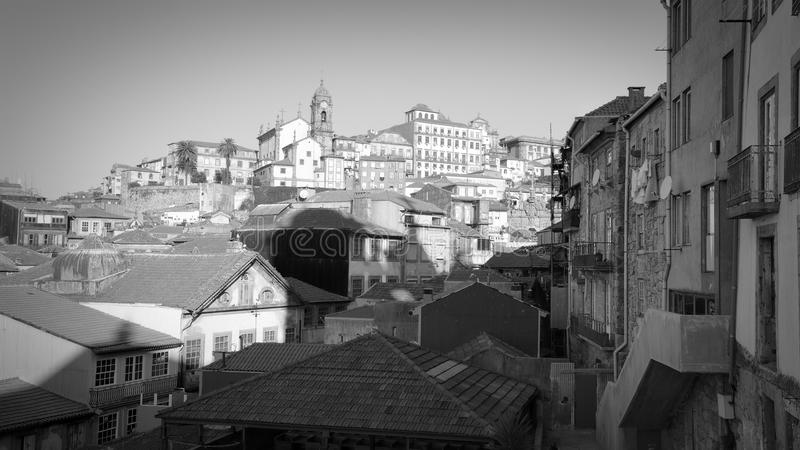 Porto tradycyjna architektura obraz royalty free