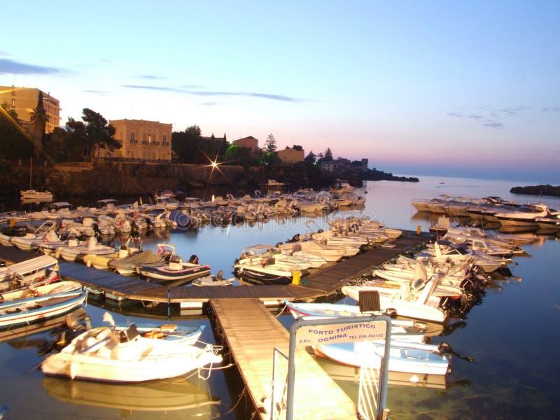 Porto Ulisse-Ognina-Catania-Sicilia-Italy - Creative Commons by gnuckx royalty free stock image