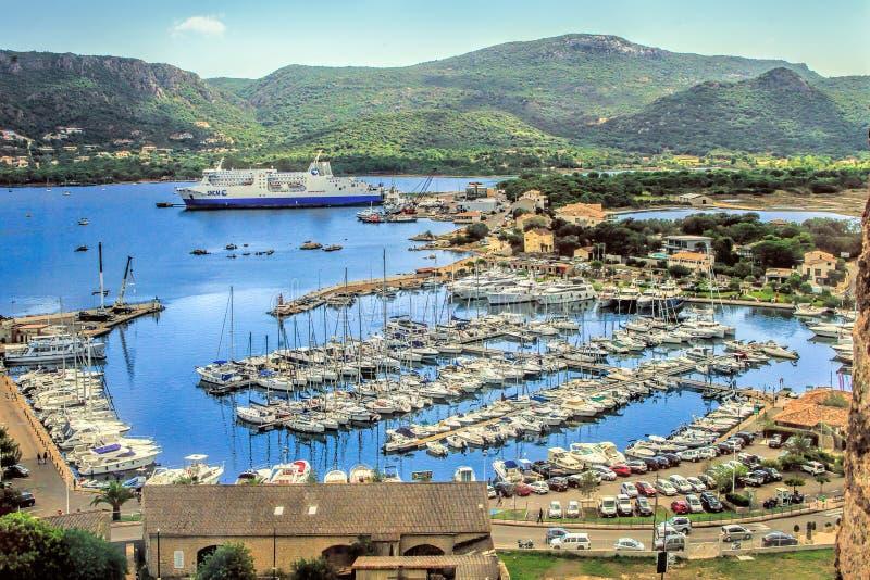 Porto Vecchio, Corsica, Frankrijk stock foto