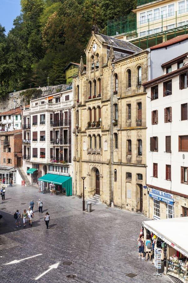 Porto velho de San Sebastian, Spain imagem de stock