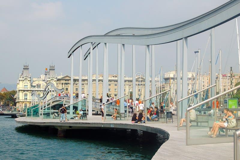 Porto Vell - Barcellona immagini stock libere da diritti