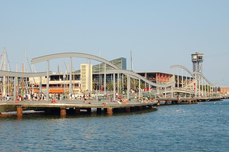 Porto Vell - Barcellona fotografia stock libera da diritti